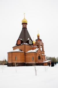 20 декабря 2015 г. Сдача работы по строительству храма.