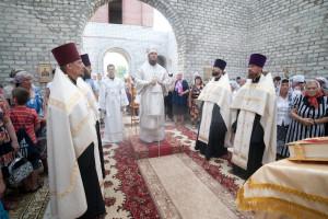 23 августа 2014 г. Епископ Покровский и Николаевский Пахомий совершил Всенощное бдение