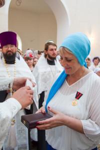 22 августа 2015 г. Епископ Покровский и Николаевский Пахомий совершил Всенощное бдение